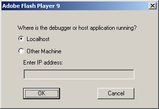 Where is the debugger or host application running