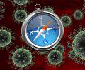 Вирус в браузере Safari