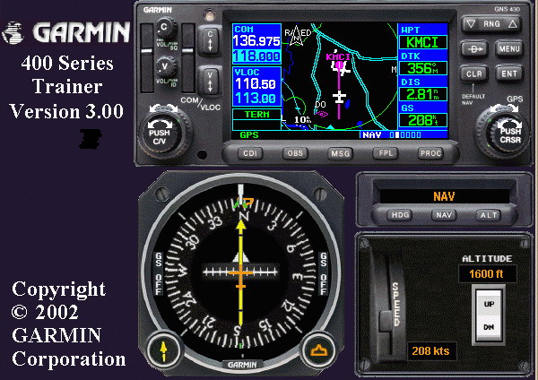 GARMIN 400-series TRAINER