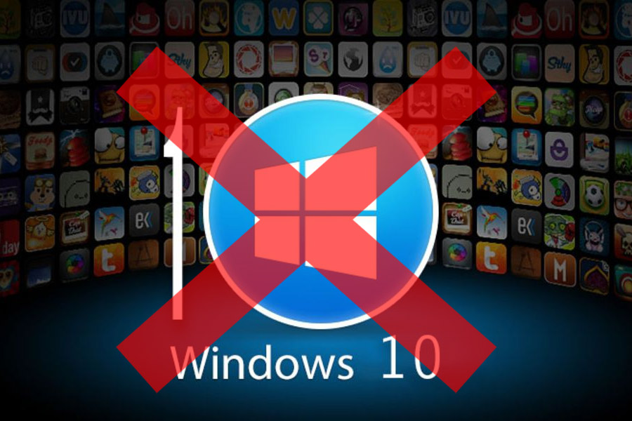 Как убрать получить Windows 10